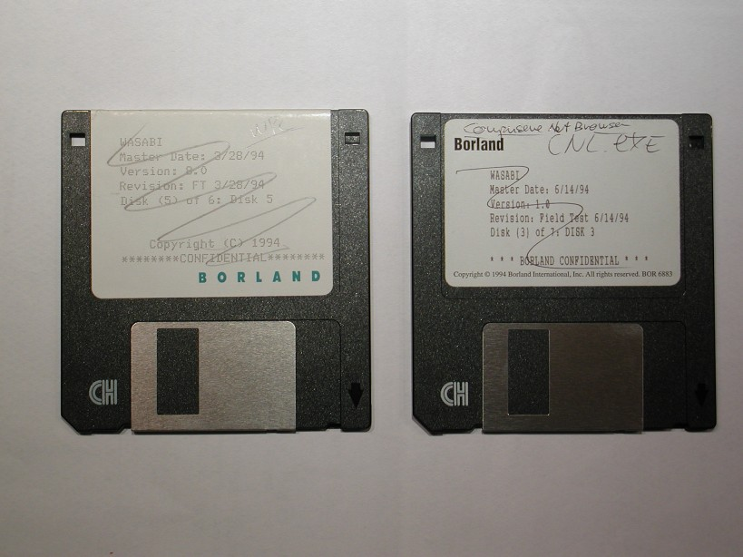 Beta Floppies