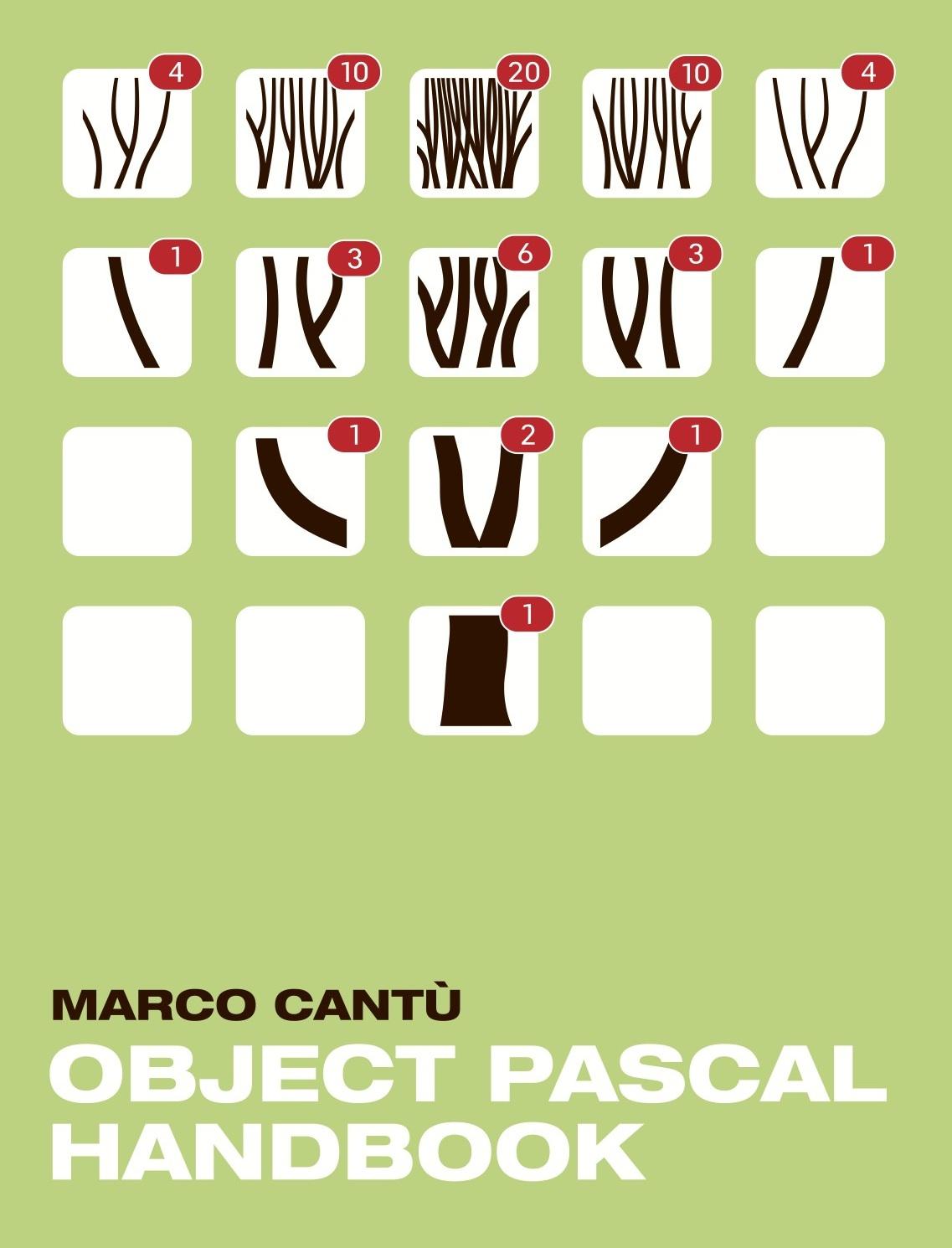 couverture du livre Object Pascal Handbook